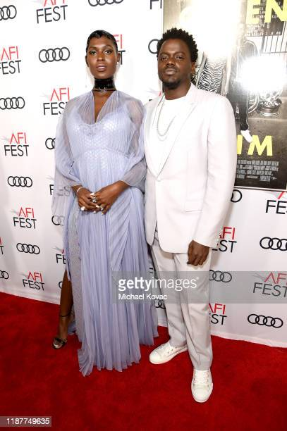 Jodie TurnerSmith and Daniel Kaluuya attend the Queen Slim Premiere at AFI FEST 2019 presented by Audi at the TCL Chinese Theatre on November 14 2019...