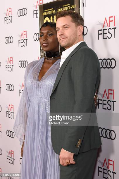 """Jodie Turner-Smith and Joshua Jackson attend the """"Queen & Slim"""" Premiere at AFI FEST 2019 presented by Audi at the TCL Chinese Theatre on November..."""