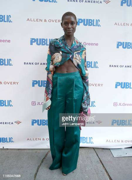 Jodie TurnerSmith attends Much Ado opening night at Delacorte Theater on June 11 2019 in New York City
