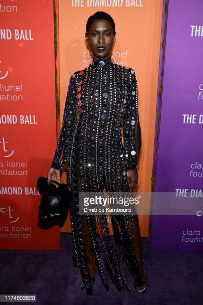 Jodie TurnerSmith attends Rihanna's 5th Annual Diamond Ball Benefitting The Clara Lionel Foundation at Cipriani Wall Street on September 12 2019 in...