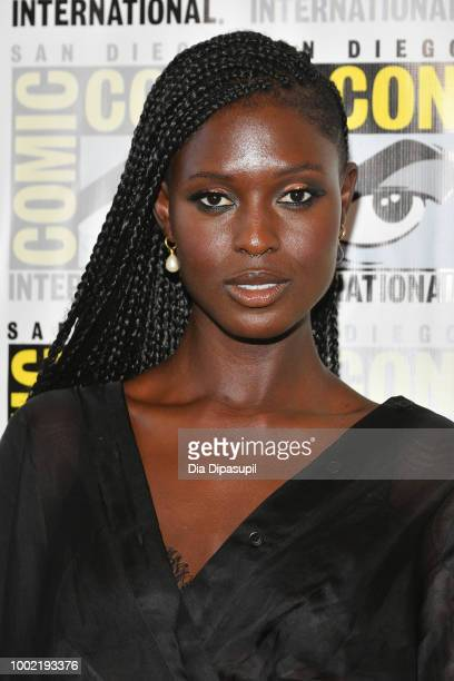 Jodie TurnerSmith attends SYFY'S 'Nightflyers' Press line during ComicCon International 2018 at Hilton Bayfront on July 19 2018 in San Diego...