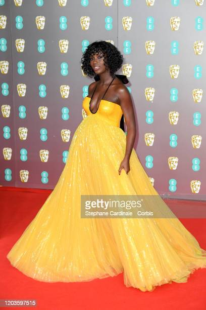 Jodie TurnerSmith attends the EE British Academy Film Awards 2020 at Royal Albert Hall on February 02 2020 in London England