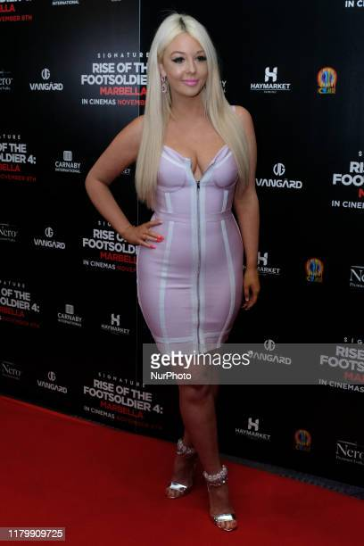 Jodie Weston Attends the premiere of Rise of the Footsoldier 4 Marbella out in cinemas amp digital HD from Friday 8th November at the Troxy London UK...