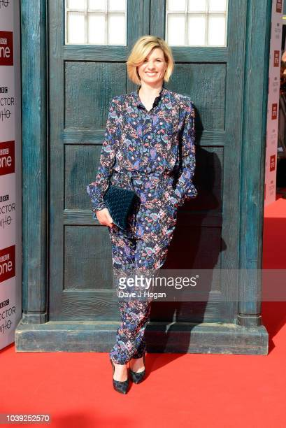 Jodie Whitaker arrives at the Doctor Who Premiere Screening at The Light Cinema on September 24 2018 in Sheffield England