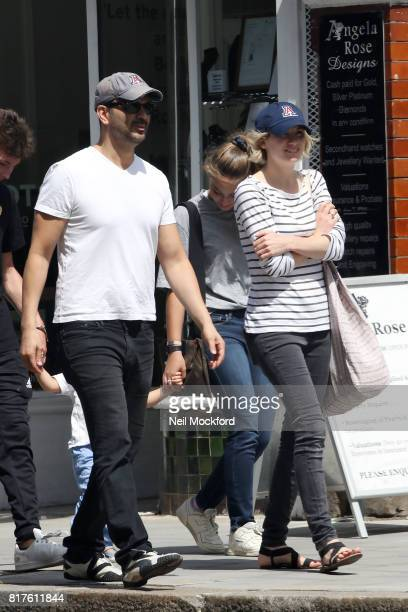 Jodie Whittaker and Christian Contreras Jodie was announced as the 13th Doctor Who seen heading to breakfast in North London on July 18 2017 in...