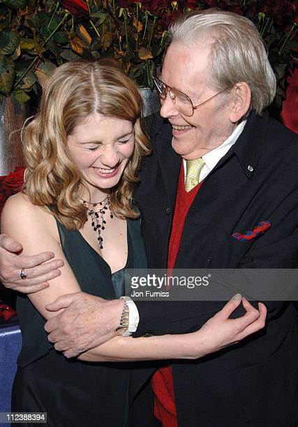 Jodie Whittaker and Peter O'Toole during Venus Gala Screening January 22 2007 at Chelsea Cinema in London Great Britain