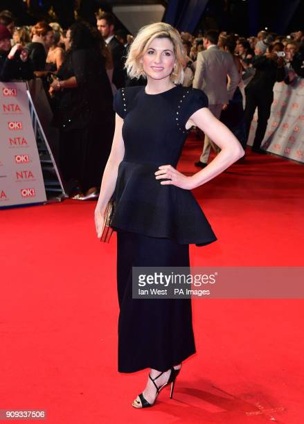 Jodie Whittaker attending the National Television Awards 2018 held at the O2 Arena London