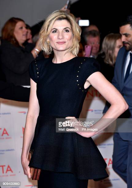 Jodie Whittaker attending the National Television Awards 2018 held at the O2 Arena London PRESS ASSOCIATION Photo Picture date Tuesday January 23...