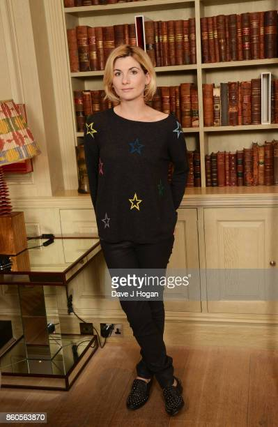 Jodie Whittaker attends a photocall for the film 'Journeyman' during the 61st BFI London Film Festival on October 12 2017 in London England
