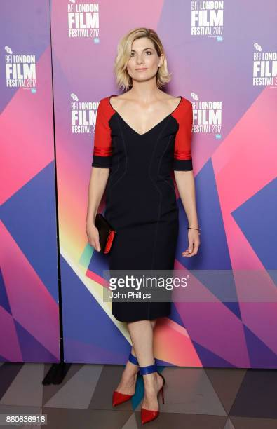 Jodie Whittaker attends a screening 'Journey Man' during the 61st BFI London Film Festival on October 12 2017 in London England