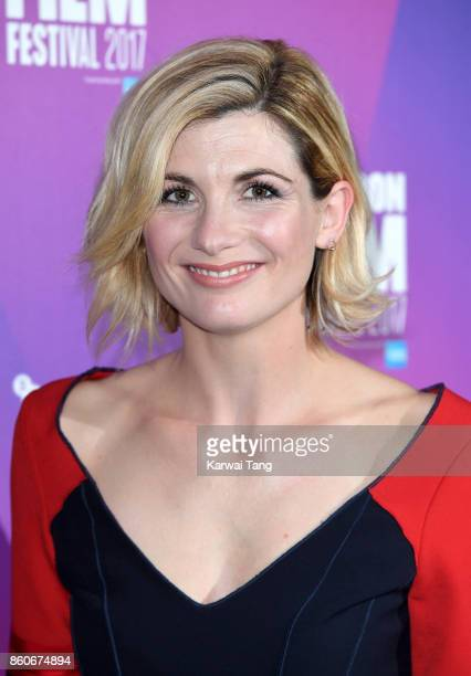 Jodie Whittaker attends a screening 'Journeyman' during the 61st BFI London Film Festival at the Picturehouse Central on October 12 2017 in London...
