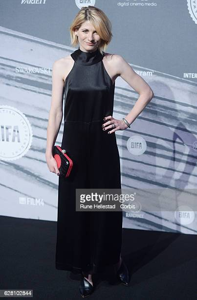 Jodie Whittaker attends at The British Independent Film Awards Old Billingsgate Market on December 04 2016 in London England