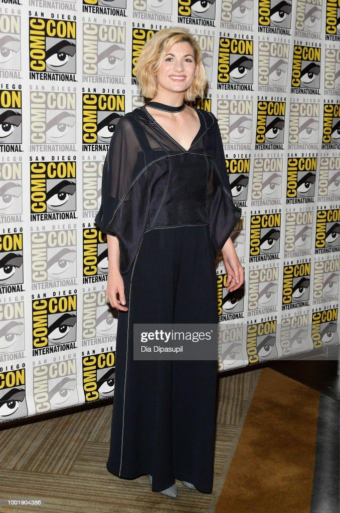 """Comic-Con International 2018 -  BBC America's """"Doctor Who"""" Press line"""