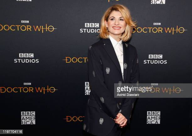Jodie Whittaker attends Doctor Who screening and q&a at the Paley Center for Media on January 05, 2020 in New York City.