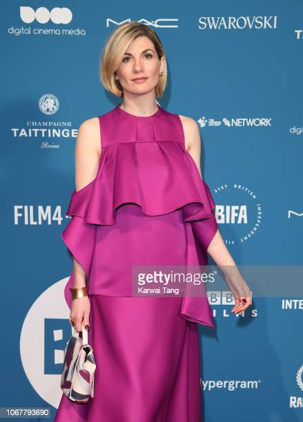 Jodie Whittaker attends the 21st British Independent Film Awards at Old Billingsgate on December 2 2018 in London England