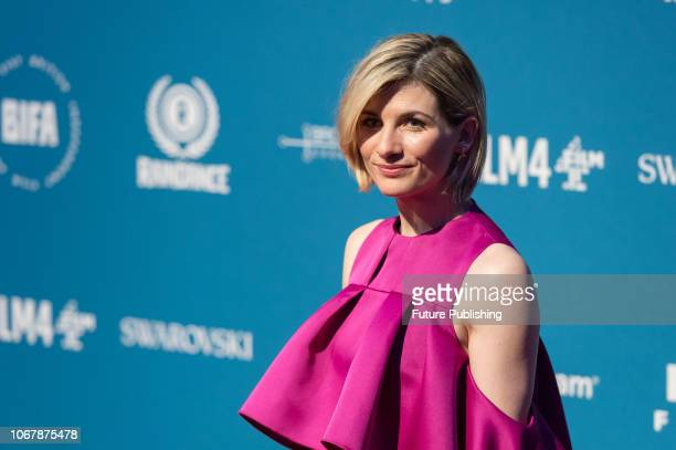 Jodie Whittaker attends the 21st British Independent Film Awards at Old Billingsgate in the City of London December 02 2018 in London United Kingdom