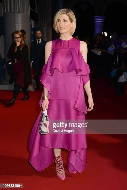 Jodie Whittaker attends the 21st British Independent Film Awards at Old Billingsgate on December 02 2018 in London England