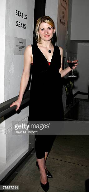 Jodie Whittaker attends the a fundraiser party for the Almeida Theatre at the Almeida Theatre on March 23 2007 in London England