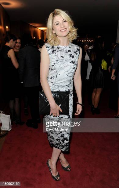 Jodie Whittaker attends the Marie Claire 25th birthday celebration featuring Icons of Our Time in association with The Outnet at the Cafe Royal Hotel...