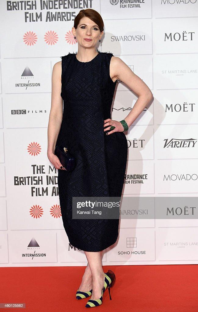 Jodie Whittaker attends the Moet British Independent Film Awards at Old Billingsgate Market on December 7, 2014 in London, England.