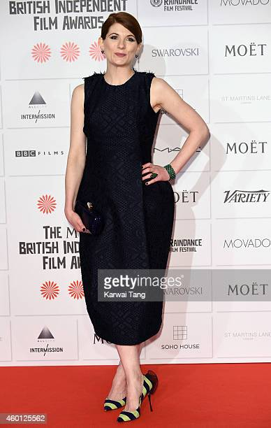 Jodie Whittaker attends the Moet British Independent Film Awards at Old Billingsgate Market on December 7 2014 in London England