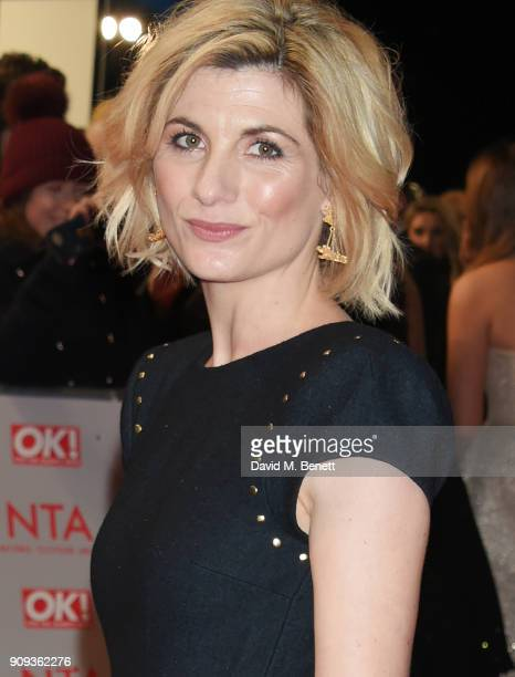 Jodie Whittaker attends the National Television Awards 2018 at The O2 Arena on January 23 2018 in London England