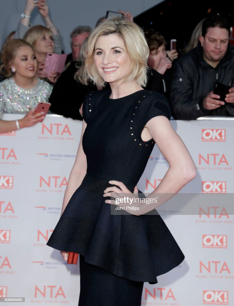 Jodie Whittaker attends the National Television Awards 2018 at the O2 Arena on January 23, 2018 in London, England.