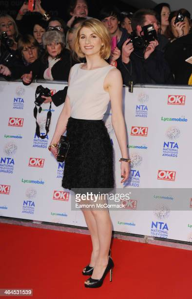 Jodie Whittaker attends the National Television Awards at 02 Arena on January 22 2014 in London England