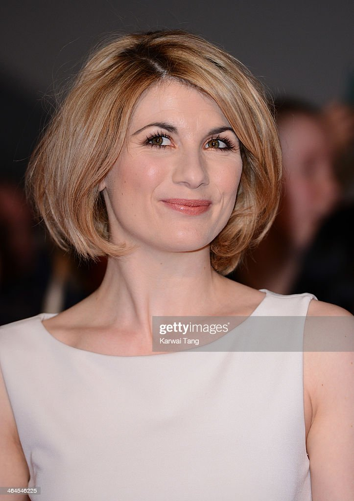 Jodie Whittaker attends the National Television Awards at the 02 Arena on January 22, 2014 in London, England.