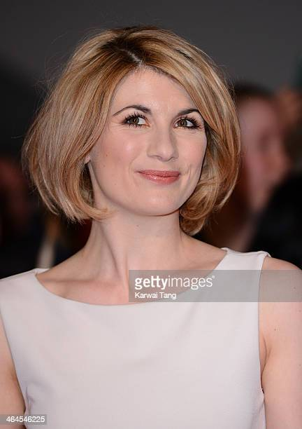 Jodie Whittaker attends the National Television Awards at the 02 Arena on January 22 2014 in London England