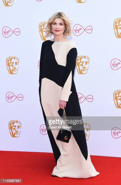 Jodie Whittaker attends the Virgin Media British Academy Television Awards at The Royal Festival Hall on May 12 2019 in London England