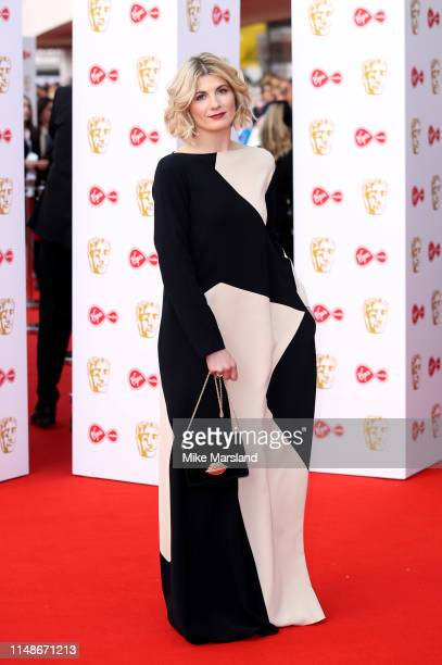 Jodie Whittaker attends the Virgin Media British Academy Television Awards 2019 at The Royal Festival Hall on May 12 2019 in London England