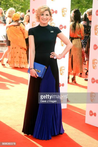 Jodie Whittaker attends the Virgin TV British Academy Television Awards at The Royal Festival Hall on May 13 2018 in London England