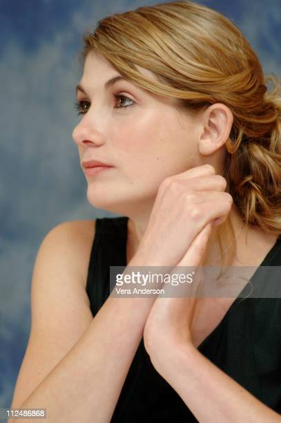 Jodie Whittaker during 'Venus' Press Conference with Jodie Whittaker at Sutton Place Hotel in Toronto Canada