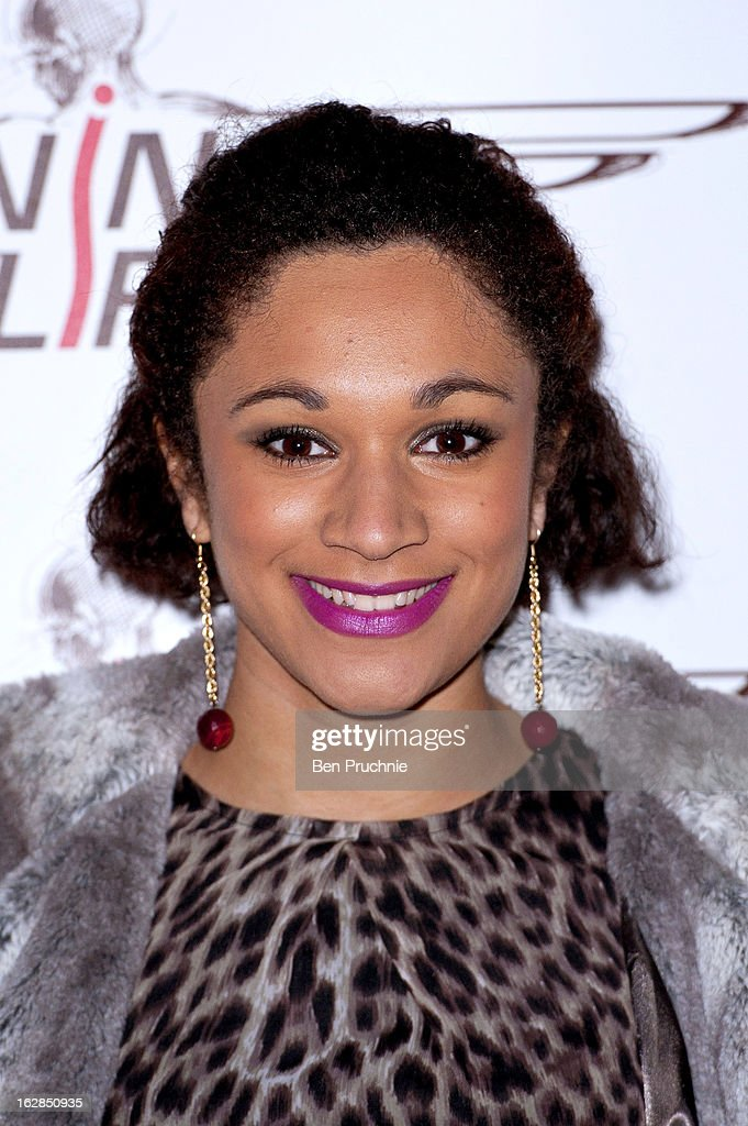 Jodie Williams attends a dinner and ball hosted by The Cord Club in aid of Wings For Life at One Marylebone on February 28, 2013 in London, England.