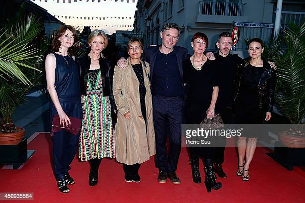 Jodie Wittaker Emilia Fox Sophie Duez Kevin Macdonald Penny Woolcock Alexandre MalletGuy and Suzanne Clement attend the opening cocktail party of the...