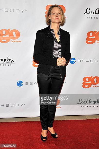 Jodiee Foster attends the 4th Annual Go Go Gala for honoree Chris Mburu at The London on November 10 2011 in Los Angeles California