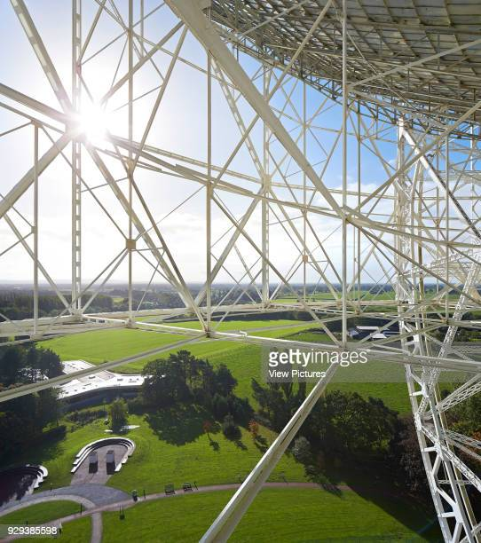 Jodrell Bank Visitor and Exhibition Centre Macclesfield United Kingdom Architect Feilden Clegg Bradley Studios LLP 2011 Detail of Lovell telescope...