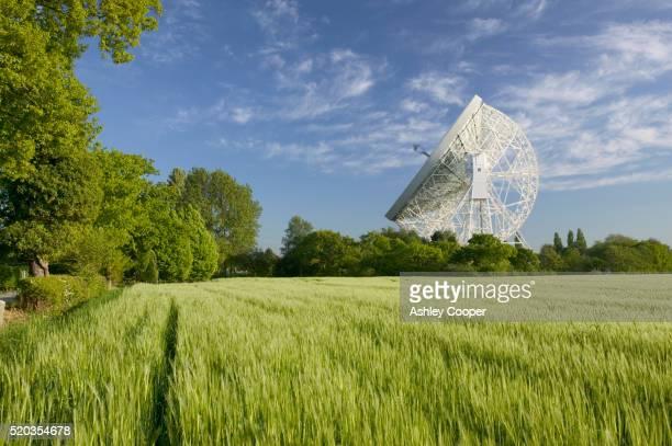 Jodrell Bank's Radio Telescope