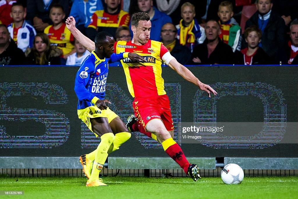 Jody Lukoki Of Cambuur Leeuwarden Marnix Kolder Of Go Ahead Eagles News Photo Getty Images