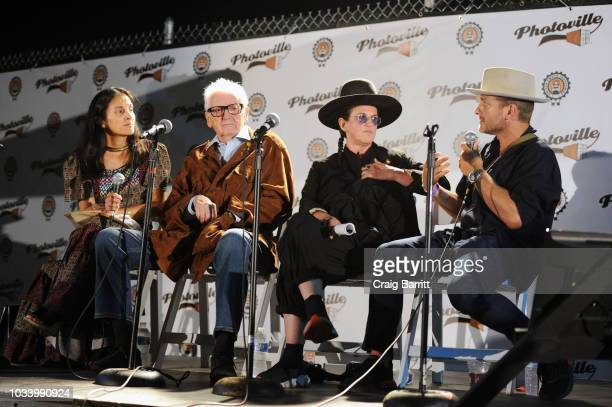 Jody Quon Harry Benson Amanda Demme and Christopher Anderson attend the New York Magazine Jody Quon Celebrate 50 Years on September 15 2018 in New...