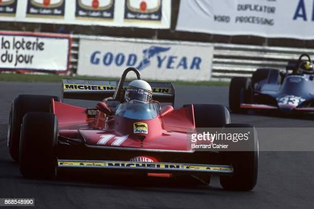 Jody Scheckter Derek Daly Ferrari 312T4 TyrrellFord 009 Grand Prix of Canada Circuit Gilles Villeneuve 30 September 1979