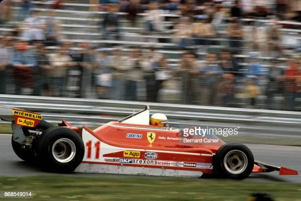 Jody Scheckter Ferrari 312T4 Grand Prix of Canada Circuit Gilles Villeneuve 30 September 1979