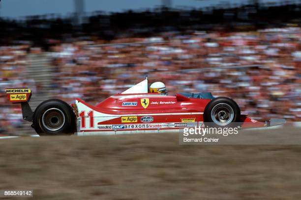 Jody Scheckter Ferrari 312T4 Grand Prix of Germany Hockenheimring 29 July 1979