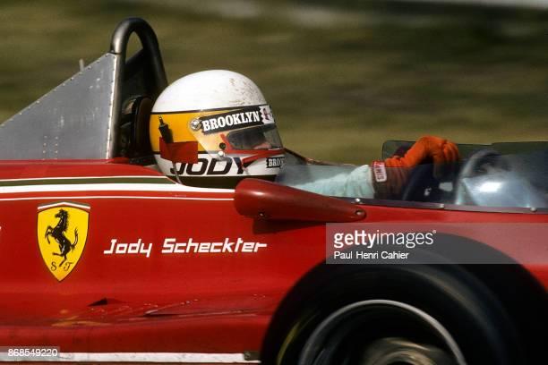 Jody Scheckter Ferrari 312T4 Grand Prix of Italy Autodromo Nazionale Monza 09 September 1979