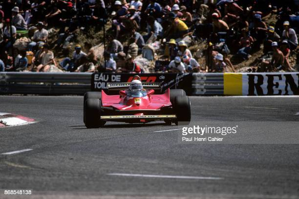 Jody Scheckter Ferrari 312T5 Grand Prix of France Circuit Paul Ricard 29 June 1980