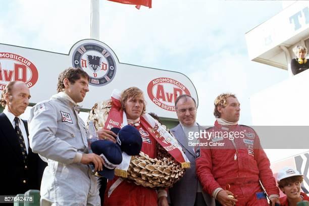 Jody Scheckter James Hunt Jochen Mass Grand Prix of Germany Nurburgring 01 August 1976