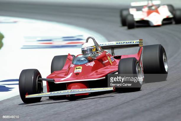 Jody Scheckter John Watson Ferrari 312T5 McLarenFord M29 Grand Prix of Austria Osterreichring 17 August 1980
