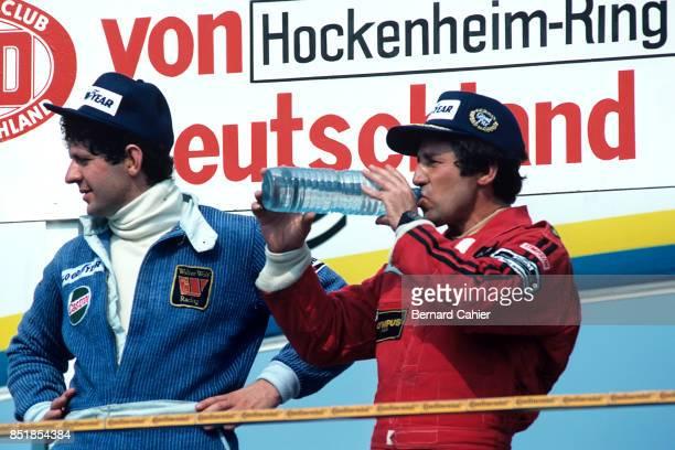 Jody Scheckter Mario Andretti Grand Prix of Germany Hockenheimring 30 July 1978