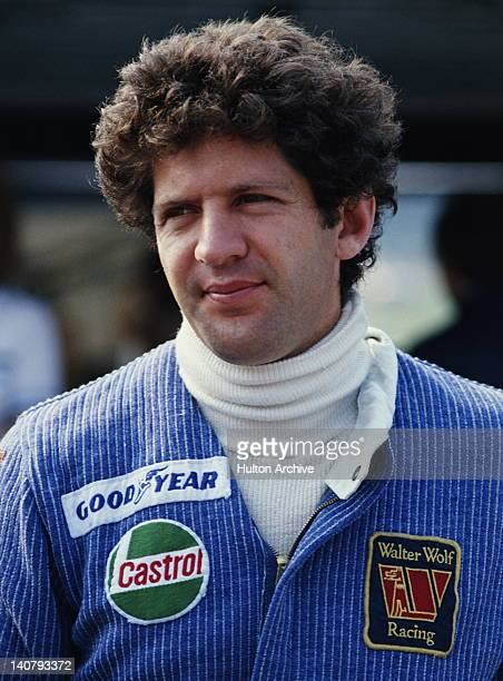 Jody Scheckter of South Africa driver of the Walter Wolf Racing Wolf WR5 Cosworth V8 during practice for the British Grand Prix on 15th July 1978 at...